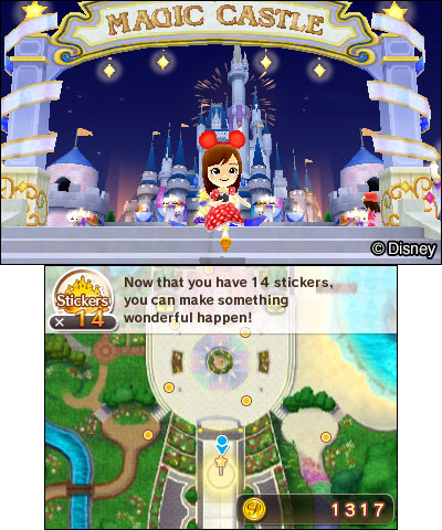 Live your dream life in the Disney Magical World 2 game alongside fan-favorite Disney characters. (Photo: Business Wire)