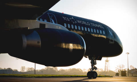 TCS World Travel Private Jet (Photo: Business Wire)