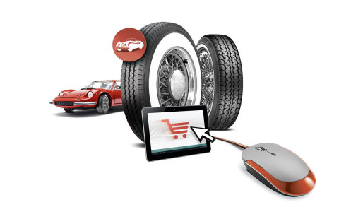 Dealers and workshops can find tyres for modern classics quickly and easily at Yourtyres.co.uk (Graphic: Business Wire)