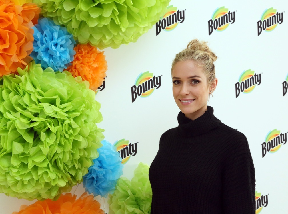 Bounty teams up with mother, designer and New York Times Best-selling author, Kristin Cavallari, to celebrate life's memorable first moments on Thursday, October 13, 2016 in New York. (Photo by Stuart Ramson/Invision for Bounty/AP Images)