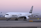 Airbus has standardized on Stratasys' ULTEM™ 9085 3D printing material for the production of flight parts for its A350 XWB aircraft (Photo: Business Wire)