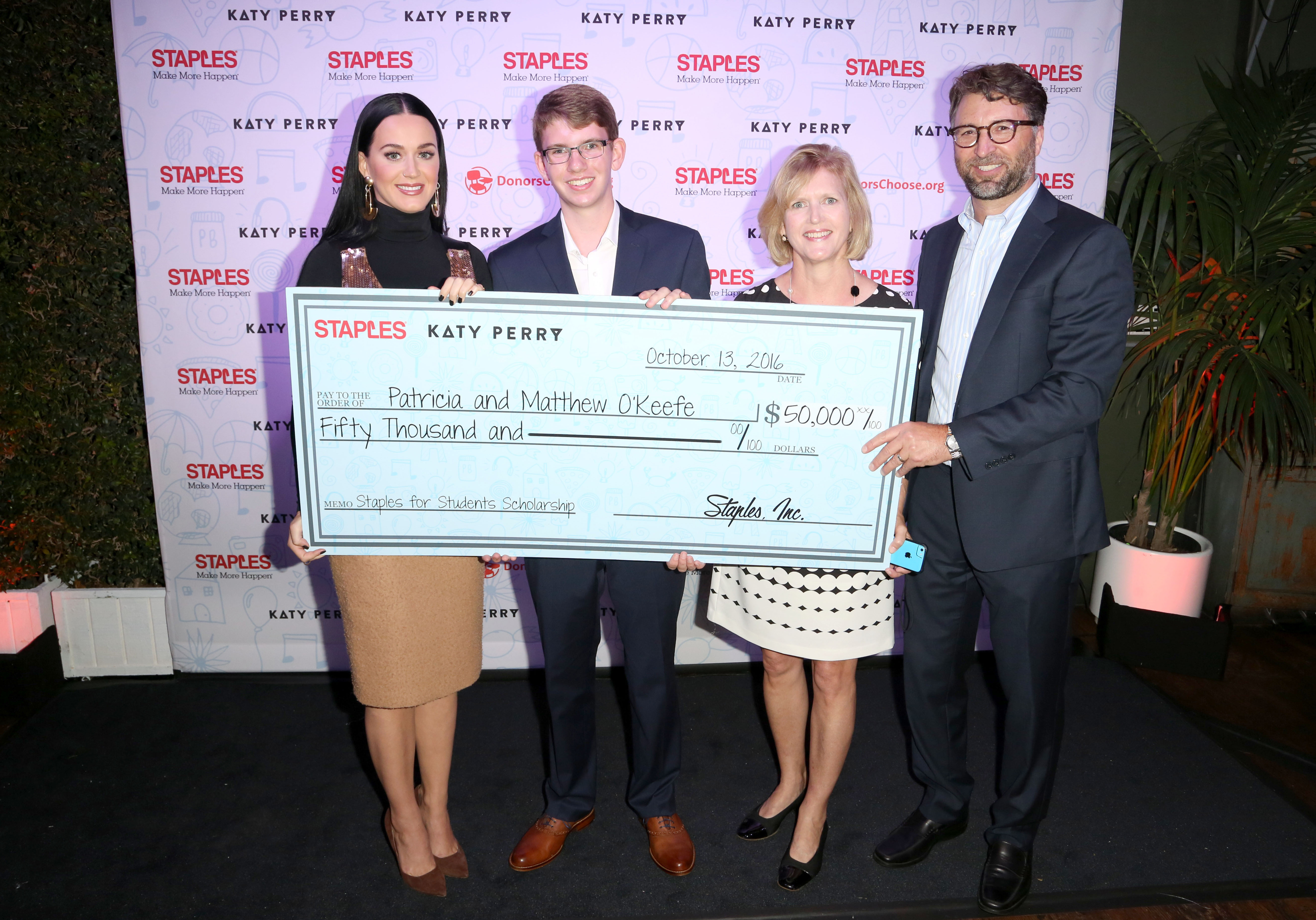 Staples and katy perry help teachers bring learning to life for staples and katy perry help teachers bring learning to life for thousands of students nationwide business wire kristyandbryce Gallery