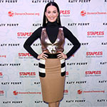 Global superstar Katy Perry attends the Staples for Students Winners VIP Celebration on Thurs., Oct. 13, 2016, in Los Angeles. One grand prize winner received a $50,000 scholarship, as well as a trip to Los Angeles with a guest to meet Perry plus four first place winners also won the trip. In April, as part of the Staples for Students program, Staples partnered with Perry to announce a $1 million donation to DonorsChoose.org. As a result, Staples fulfilled 1,072 classroom projects on DonorsChoose.org, providing 787 teachers in 402 schools with their classroom needs, and impacting 98,609 students across the country. Additionally, Staples customers donated more than $330,000 to DonorsChoose.org at Staples stores and at www.StaplesForStudents.com throughout the back-to-school season. (Casey Rodgers/AP Images for Staples)
