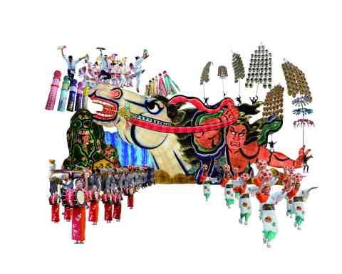 Tohoku Rokkonsai Parade at TOKYO SHINTORA MATSURI (Photo: Business Wire)