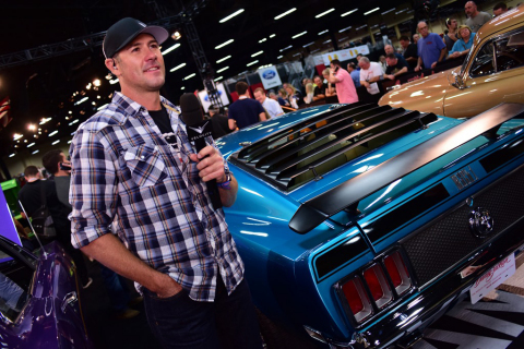 Barrett-Jackson will feature 24 hours of LIVE coverage in the United States as well as 24 hours in Canada and an unprecedented 20 hours in the United Kingdom. (Photo: Business Wire)