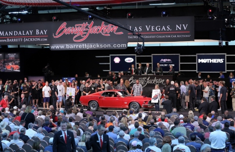 Barrett-Jackson wraps up record breaking 45th Anniversary year with strong Las Vegas Auction (Photo: Business Wire)