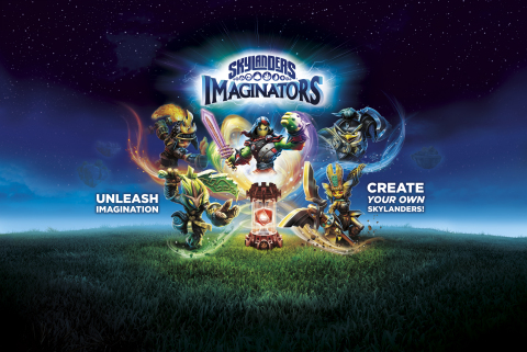 Skylanders Imaginators is now on store shelves at major retailers worldwide! The award-winning videogame lets players create their own Skylanders for the first time! (Photo: Business Wire)