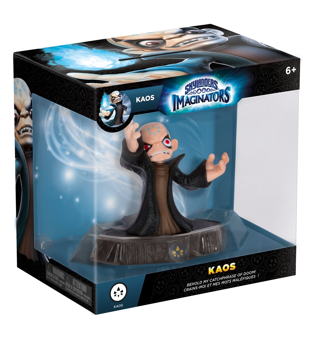 To celebrate the US launch of Skylanders Imaginators, fans will receive a free, fully-playable Kaos toy with purchase of a Starter Pack. Offer valid until Oct. 22. While supplies last. (Photo: Business Wire)