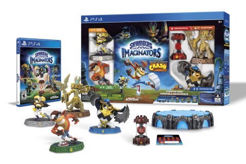 Skylanders Imaginators introduces two new guest star characters -- Crash Bandicoot and his arch-nemesis Dr. Neo Cortex – to the lineup of Skylanders Sensei characters as fully-playable toys. (Photo: Business Wire)