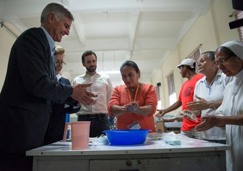 希爾頓擴大其業界領先的最大規模肥皂回收計畫,以幫助有需要的社區(照片:美國商業資訊)