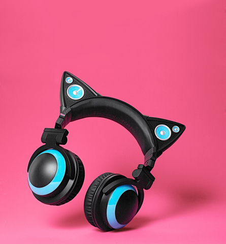 Macy's introduces Brookstone to macys.com and stores nationwide, offering innovative gift ideas this holiday season; Brookstone Cat Ears Headphones, $99.99 (Photo: Business Wire)