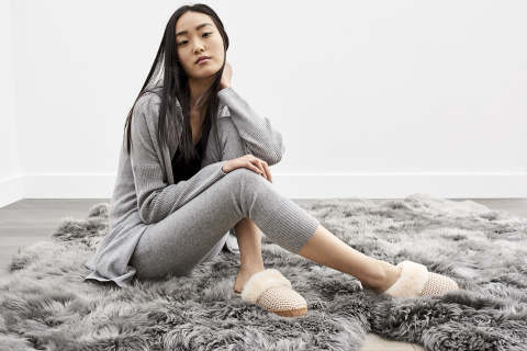 UGG Cashmere Aria Knit and Helen Pant (Photo: Business Wire)