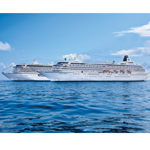 Crystal Symphony and Crystal Serenity at Sea (Photo: Business Wire)