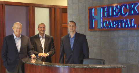 Heck Capital Advisors from left: Chairman Robert Heck, Chief Operating Officer David Heck, and Chief Financial Officer Kenneth Heck. Rhinelander-based Heck Capital has opened its first office in downtown Milwaukee. (Photo: Business Wire)