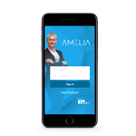 IPsoft launches a new mobile application built on its AI platform, Amelia for iPhone and Android devices. (Photo: Business Wire)