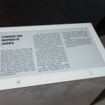 E Ink's ePaper Signage Solutions Enhance the Learning Experience at the Estonian National Museum (Photo: Business Wire)