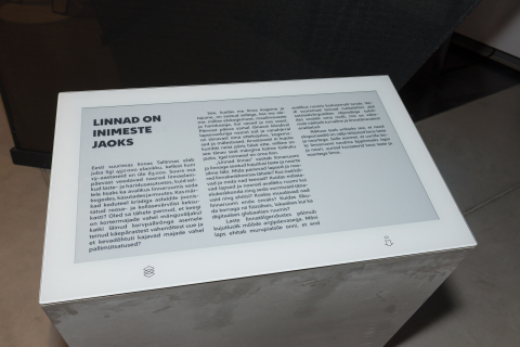 E Ink's ePaper Signage Solutions Enhance the Learning Experience at the Estonian National Museum (Ph ...