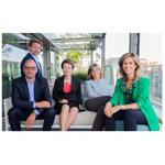 Ysios Capital Directors Josep Ll. Sanfeliu (top left), Joël Jean-Mairet, Karen Wagner, Julia Salaverria (left to right), and Cristina Garmendia (right bottom). (Photo: Business Wire)