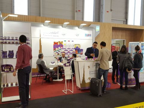 Camelicious stand at SIAL Paris 2016 (Photo: ME NewsWire)