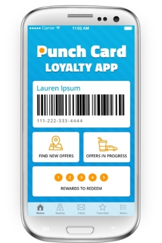 New from Excentus and Verifone, the Digital PunchCard Loyalty Solution for C-Stores (Photo: Business Wire)