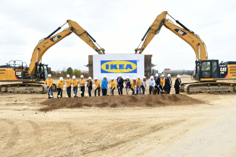 Swedish Retailer IKEA Breaks Ground for Indianapolis-area Store, Opening Fall 2017 in Fishers, IN (Photo: Business Wire)