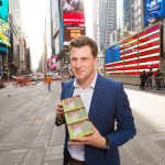 Graze CEO, Anthony Fletcher during graze's US retail launch (Photo: Business Wire)