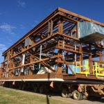 One of the 358 modules fabricated and shipped by Fluor to the Fort Hills Energy L.P. oil sands mining project in the Athabasca region of Alberta, Canada. (Photo: Business Wire)