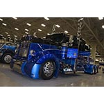 A 2000 Kenworth W900 built by Texas Chrome Shop and finished with Axalta Imron® 6600 CT™ won Best of Show at the Great American Trucking Show and will appear on Discovery Channel's Texas Trocas TV show. (Photo: Axalta)