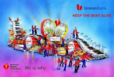 Union Bank-AHA Rose Parade Float Rendering (Graphic: Business Wire)