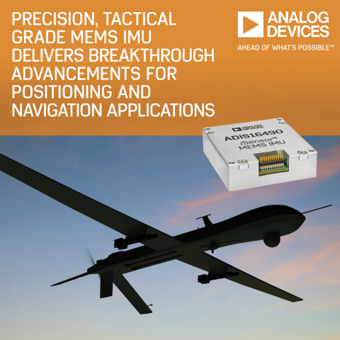 Precision Tactical Grade MEMS IMU Delivers Breakthrough System Level Advancements for Positioning and Navigation Applications (Photo: Business Wire)