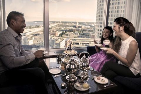 Afternoon Tea at The Pfister Hotel Begins October 21 (Photo: Business Wire)