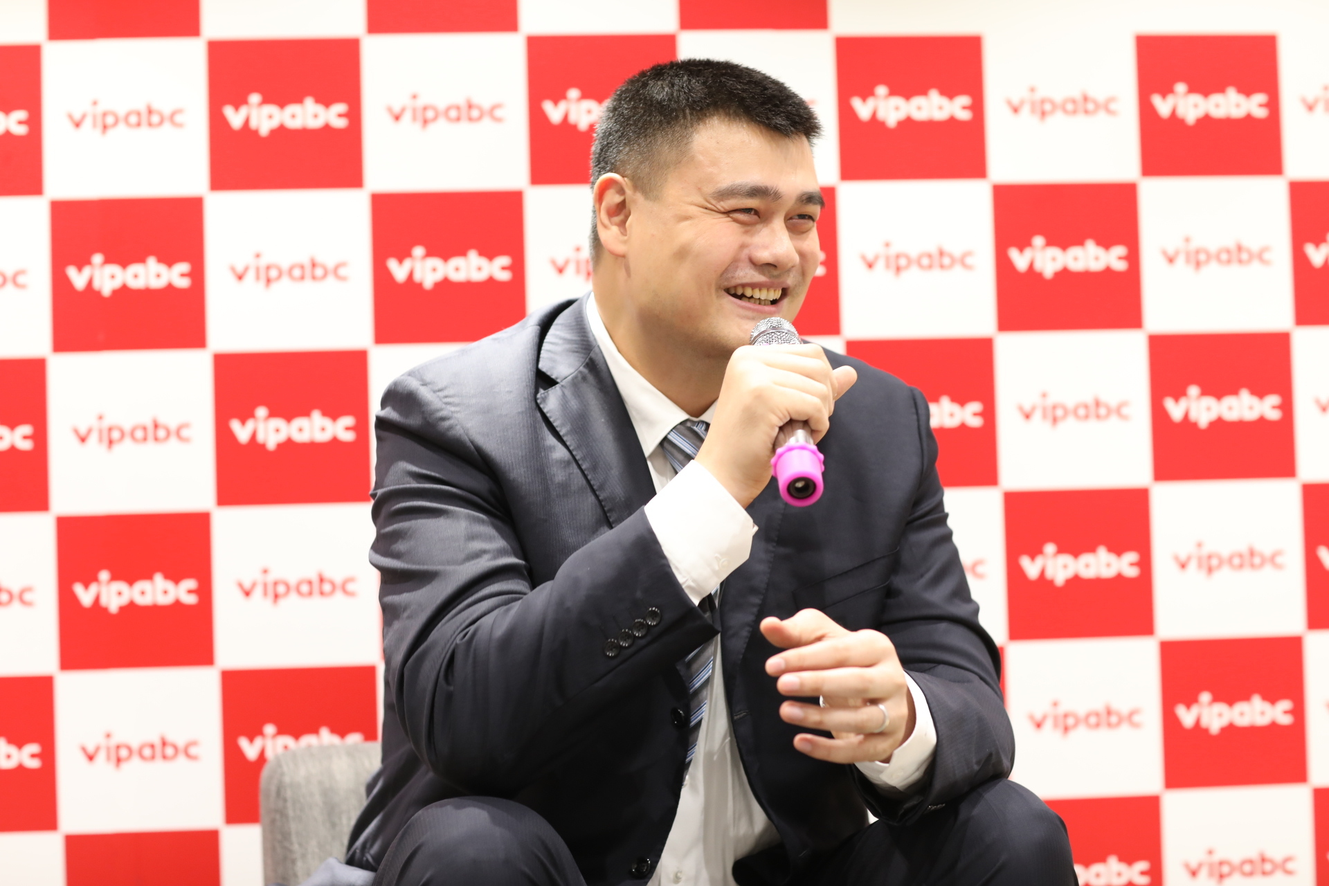 Yao Ming shares his stories on earning his place in the NBA Hall of Fame (Photo: iTutorGroup)