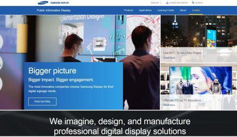 Samsung display panel business plan