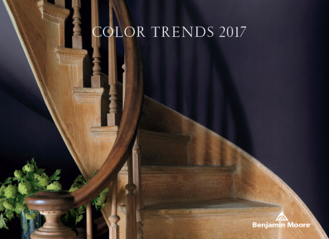Benjamin Moore, North America's favorite paint, color and coatings brand, announced its Color of the Year 2017 – Shadow 2117-30, a rich, royal amethyst. (Photo: Business Wire)