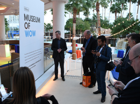 Hilton unveils Museum of Wow in Las Vegas on Oct. 18, 2016 to celebrate the launch of WowMakers, an initiative to celebrate meeting, event and travel professionals. (Denise Truscello /Getty Images for Hilton)