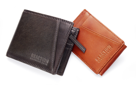 Find the perfect gift for everyone on your list this holiday season at Macy's stores and on macys.com; Kenneth Cole Reaction Wallets, $48 each. (Photo: Business Wire)