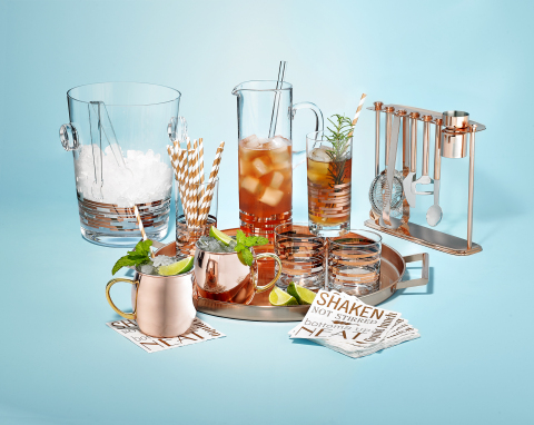 Find the perfect gift for everyone on your list this holiday season at Macy's stores and on macys.com; Martha Stewart Collection Copper Barware, $10-$86. (Photo: Business Wire)