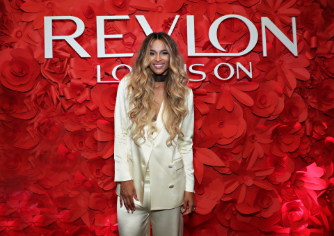 Revlon Brand Ambassador Ciara Attends the RevlonXCiara Launch Event in New York City/Refinery Hotel (Photo: Business Wire)