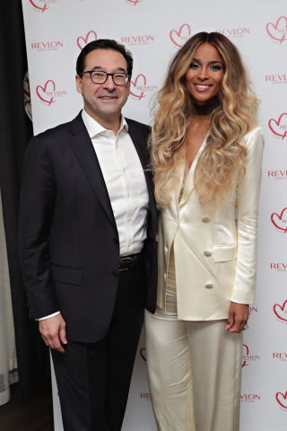 Revlon Global Brand Ambassador and Revlon CEO Fabian Garcia Attend the RevlonXCiara Launch Event in New York City/Refinery Hotel (Photo: Business Wire)