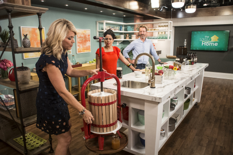 """Wayfair and A+E Networks announce a fully-shoppable lifestyle series """"The Way Home"""". (Photo: Busines ..."""