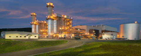 The 829 MW Panda Liberty Generating Station located in Bradford County, PA (Photo: Business Wire)