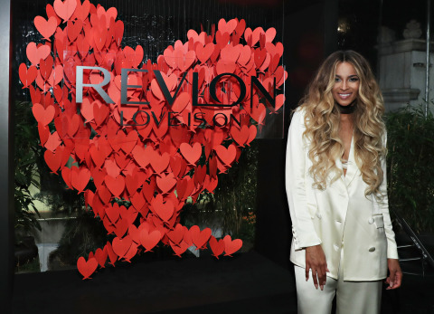 Revlon Global Brand Ambassador Ciara Attends the RevlonXCiara Launch Event in New York City/Refinery Hotel (Photo: Business Wire)
