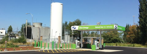Clean Energy LNG Station in Fife, Washington (Photo: Business Wire)