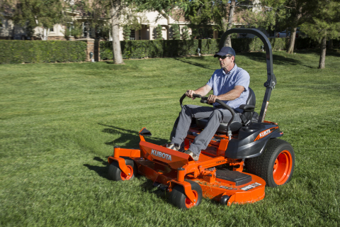 Kubota introduces three new models in its Z400-Series, powered by industry-proven engines and engineered to ensure superior results. (Photo: Business Wire)