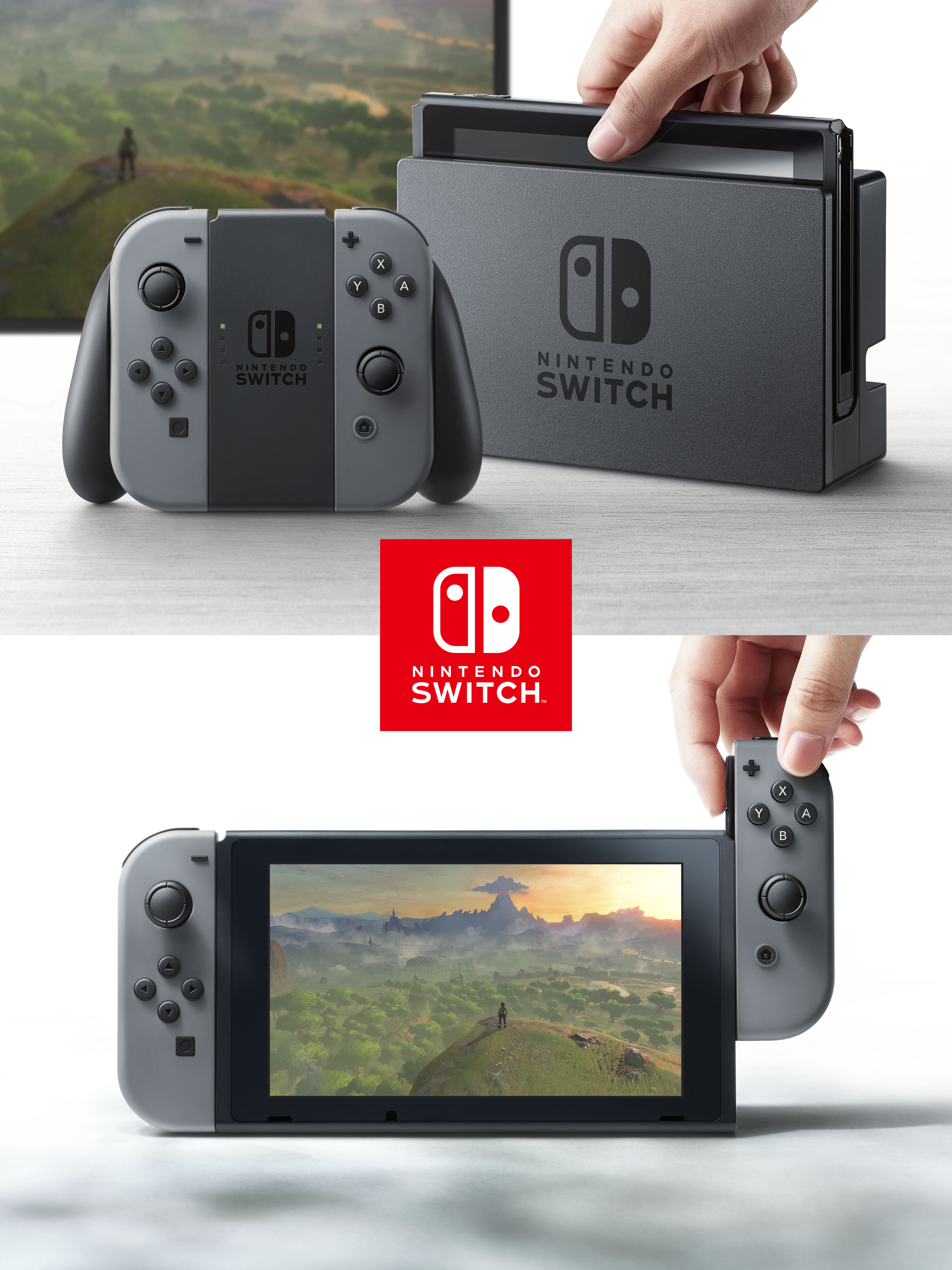 Nintendo Switch World Premiere Demonstrates New Entertainment ...