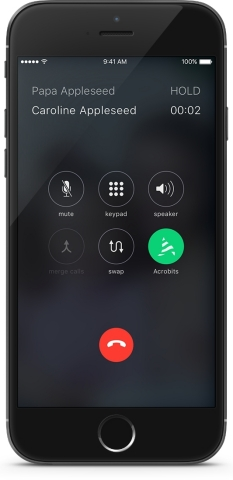 Acrobits announces the launch of the iOS10 CallKit integration (Photo: Business Wire)