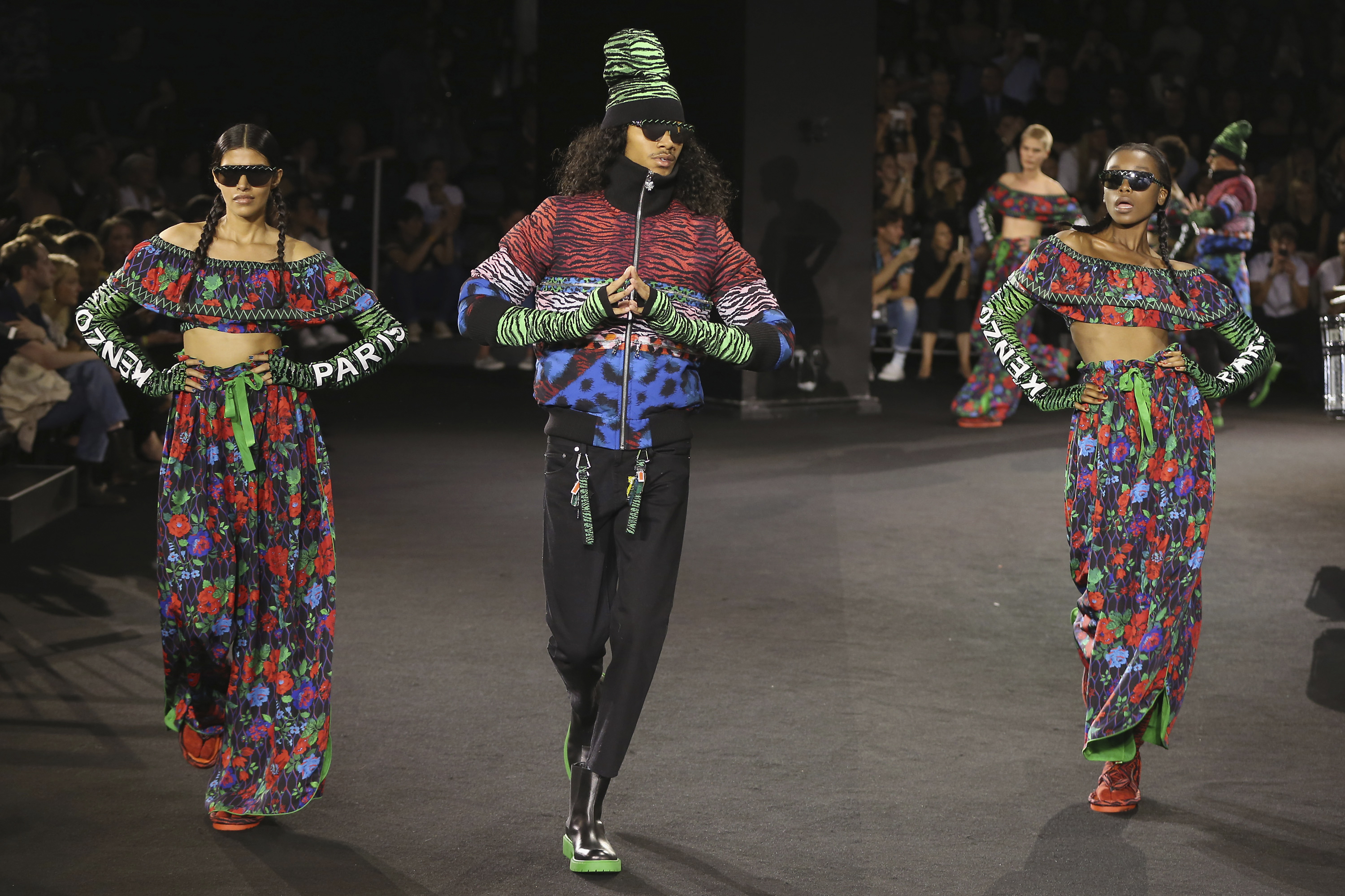 5f6e1b4b070 Jean-Paul Goude Directs a Spectacular Fashion Show in New York to Celebrate  the Launch of KENZO x H&M | Business Wire
