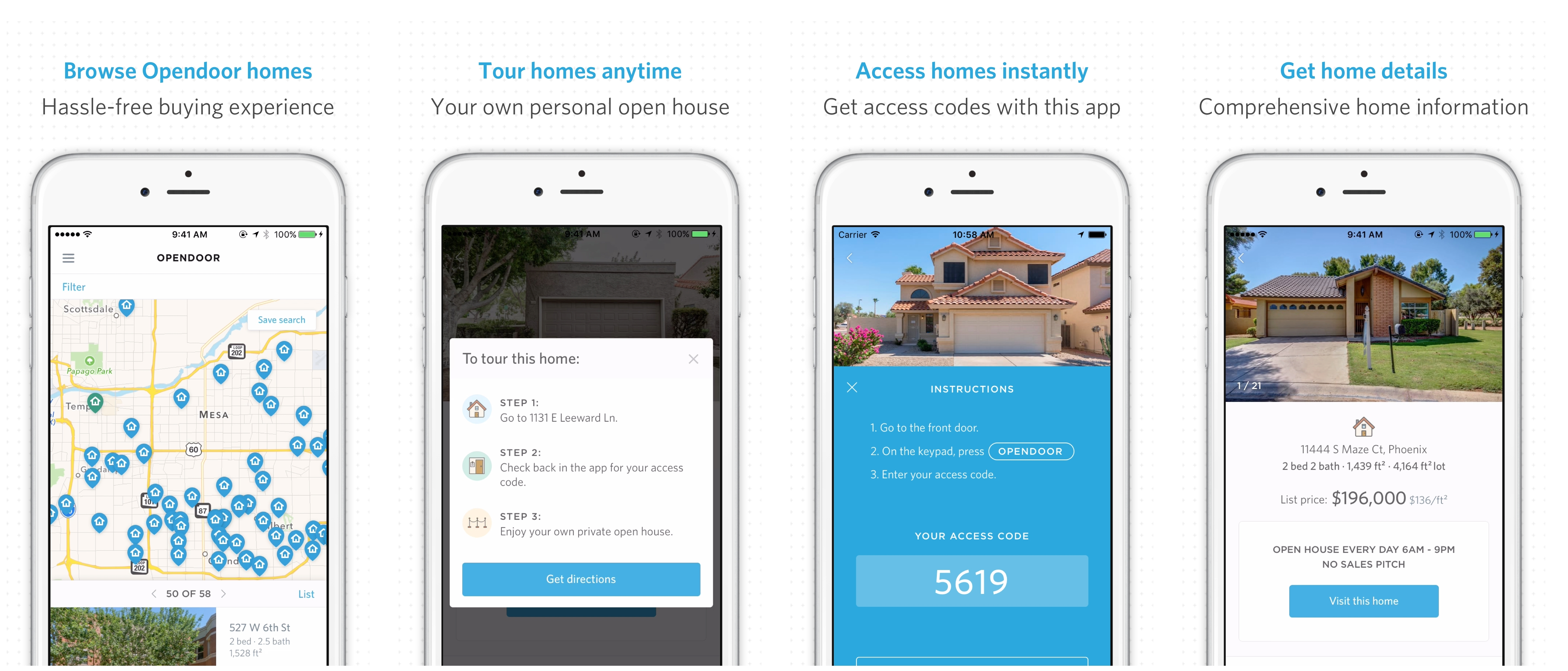 Opendoor Mobile App Gives Phoenix Home Shoppers On-demand