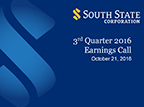 South State Corporation 3rd Quarter 2016 Earnings Call