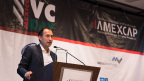 Wizeline CEO Bismarck Lepe accepts AMEXCAP Successful Trajectory Award (Photo: Business Wire)